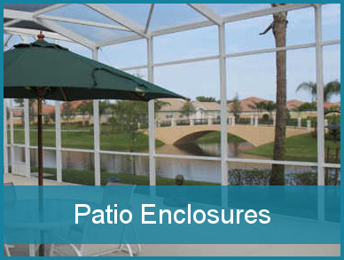 Glass patio enclosures